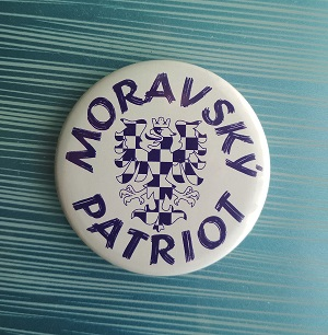 Magnetka Moravský patriot, 56 mm
